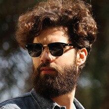 Fashion Luxury Brand Design Semi Rimless Sunglasses