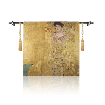 Belgium Tapestries Gold Thread Tapestry Cotton Jacquard Medieval European Character Adela Wall Hanging Decoration Painting Cloth