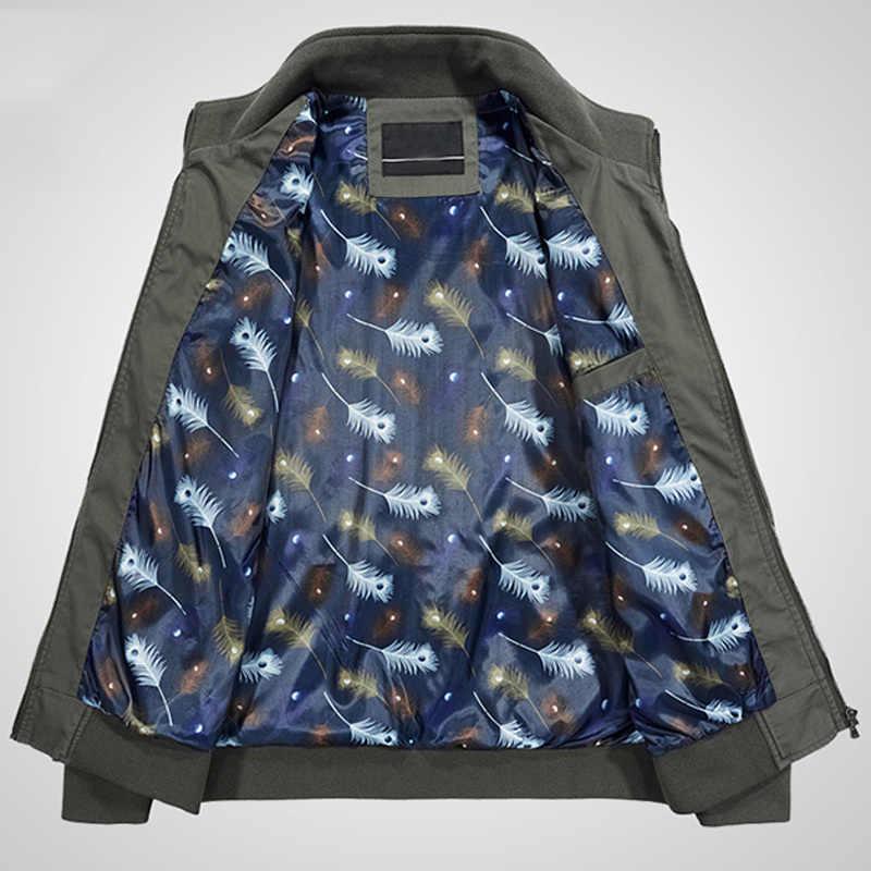 Europese Plus Size 4XL Mannen Jas En Jassen Katoen Zomer Dunne Jassen Voor Daddy Overjassen Casual Man Jas Streetwear 2020 A616
