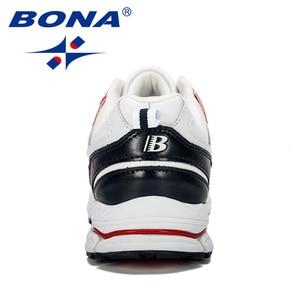 Image 2 - BONA 2019 New Designer Professional Leather Running Shoes Men Spring Autumn Walking Shoes Men Athletic Jogging Sneakers Footwear