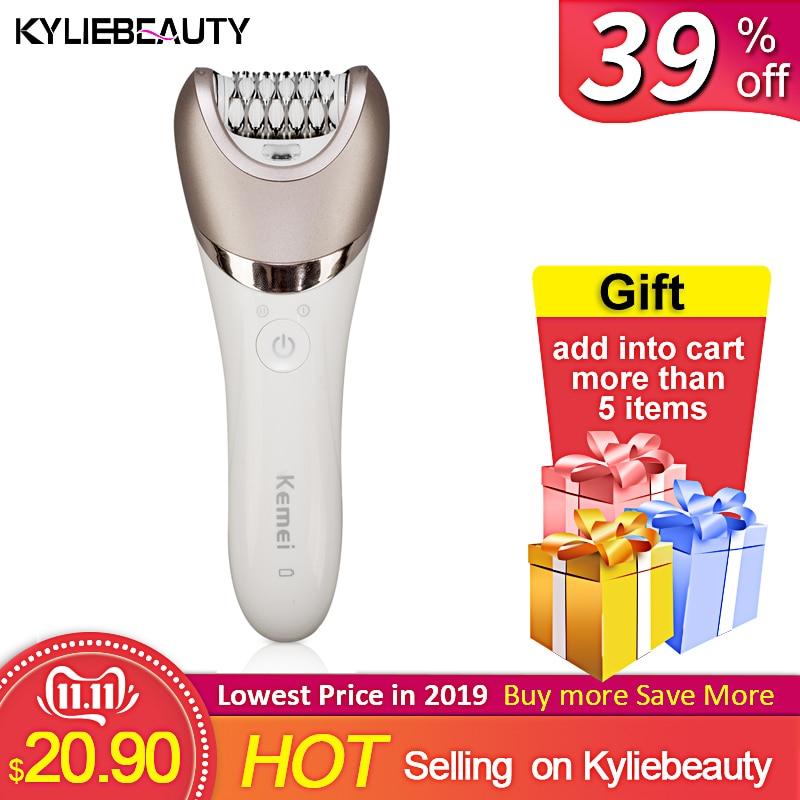 5 In 1 Rechargeable Electric Women Shaver Epilator Shaving Hair Removal Scraping Female Body Depilation Machine Depilator