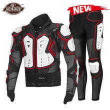 Nouvelle veste de Moto pour hommes, armure complète pour Motocross, Protection pour l'été