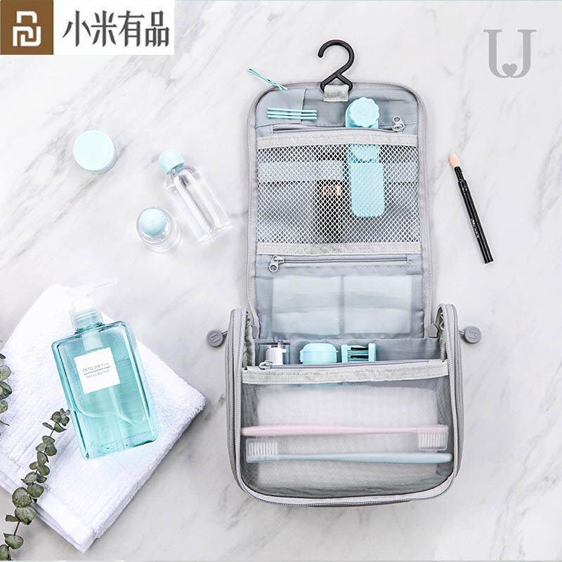 Youpin Portable Wash Bag Women Makeup Cosmetic Organizer kit in luggage Travel Trip Vacation Travel Storage Bag Mijia Youpin