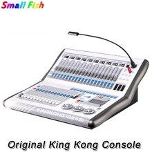 Equipamento de dj king kong 1024si dmx controlador cabeça em movimento iluminação console dmx512 profissional luzes palco controlador flightcase