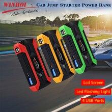 цена на Car Jump Starter Power Bank for Car Battery 89800mAh Portable Emergency Charger Multi-Functional Car Booster Starting Device