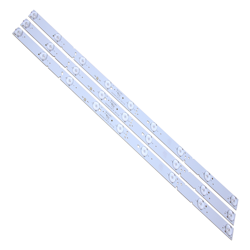 LED Backlight Lamp Strip For 32inch 9lamp ZDJK315D09-ZC14F-06 303JK315033 3V 607mm