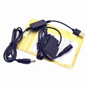 Image 3 - DSLR USB Charger Power bank Cable+LP E17 DR E18 Dummy battery for Canon EOS 750D Kiss X8i T6i 760D T6S 77D 800D 200D Rebel SL2