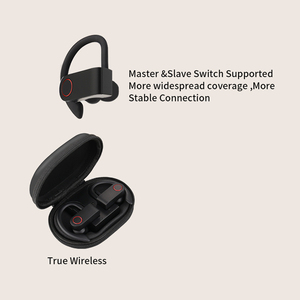 Image 4 - Wireless Sports Headphones TWS Bluetooth 5.0 Earphones Ear Hook Running Noise Cancelling Stereo Earbuds With MIC IPX4 Waterproof