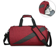 Dry Wet Separation Travel Handbags Men Women Waterproof Sport Luggage Shoulder Bags Leisure Overnight Duffle Shoe Tote Pack S014