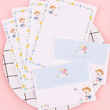 Конверты 4 с буквами на листе набор бумаги любовь цветок буквы