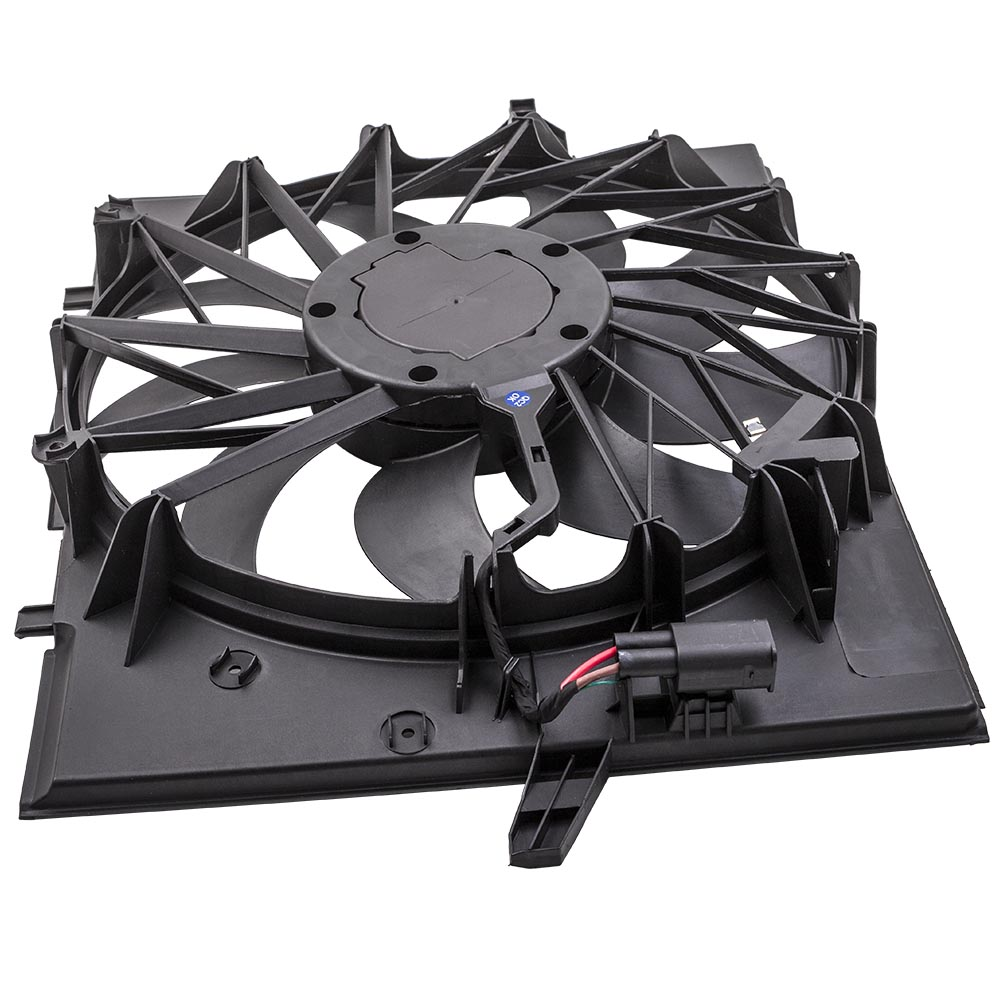 Brushless <font><b>Motor</b></font> Radiator <font><b>Cooling</b></font> <font><b>Fan</b></font> 600 W for <font><b>BMW</b></font> E60 525 530 545 645 E65 750 2004-2009 525i 17427543282 image