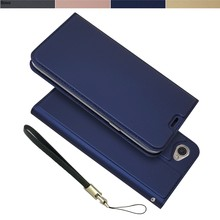 Wallet Case for LG Q6 Q6+ Q6a M700 Drop-proof Phone Case Magnetic attraction Matte Touch