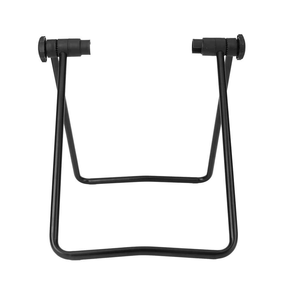Baru Sepeda Gunung Sepeda Jalan Segitiga Vertikal Stand Tampilan Hub Roda Sepeda Perbaikan Berdiri Kickstand untuk Perbaikan Sepeda Lantai Berdiri