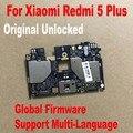 Глобальная прошивка оригинальный тест Рабочая разблокировка материнская плата для Xiaomi Hongmi 5 Plus Redmi 5 Plus материнская плата гибкий кабель