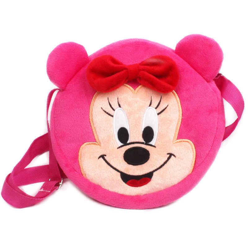Sacos de escola para crianças de pelúcia mochila dos desenhos animados sacos de crianças do bebê bonito saco da criança do jardim de infância meninos meninas presente favorito das crianças