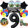 Brawles Stars Birthday Party Supplies Party Ballons Disposable Paper Cup Anime Game Latex Ballon Festive DIY Decoration Kid Gift