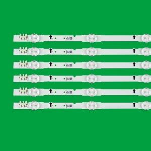 Image 2 - 12 Pièces/ensemble LED bande de rétro éclairage pour TV LED samsung UE48H6400 UE48H6200AK BN96 30453A BN96 30454A D4GE 480DCA R3 D4GE 480DCB R3