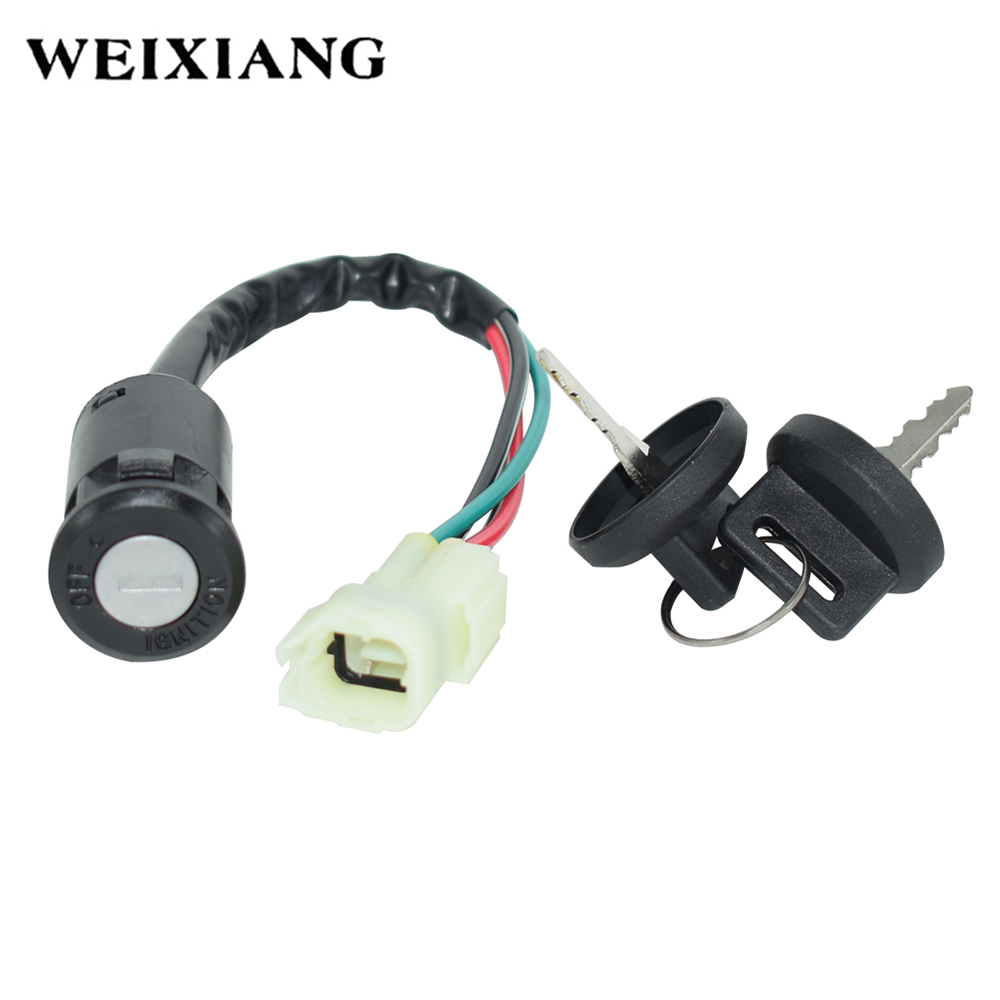 Motorcycle Ignition Switch With 2 Keys For Arctic Cat 2002 2003 2004 2005 ATV 50 90 OFF Lock Switches