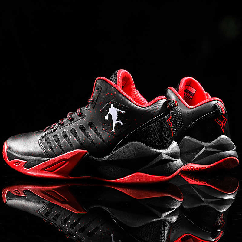 حجم كبير 45 الرجال حذاء كرة السلة تنفس أحذية رياضية الرجال الأردن أحذية Zapatillas كرة السلة Hombre حذاء من الجلد أحذية رياضية