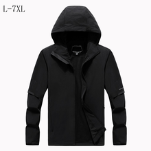 Solid waterproof thick loose Windbreaker windproof brand jacket warm classic Trench men's Long Sleeve Quality coats hooded(China)
