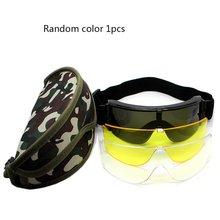 X800 военный фанат очки тактические очки анти-ударные защитные очки спецназ оборудование Камуфляжный костюм