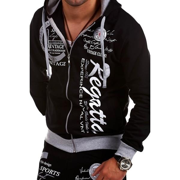 Zogaa New Gyms Tracksuit Men Pants Sets Fashion Sweatshirt Sweat Suits Brand Jogger Set Men Hoodies Hot Popular Mens Tracksuit