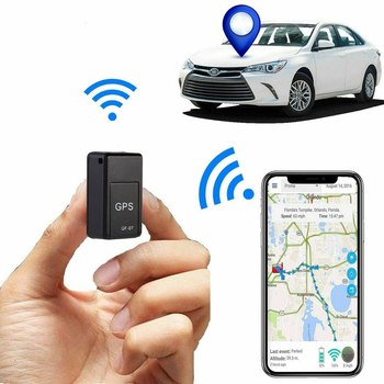 New Mini GPS Tracker Vehicle Strong Magnetic Free Installation GF07 Tracking Anti-loss Locator Personal Tracking Object Tracker