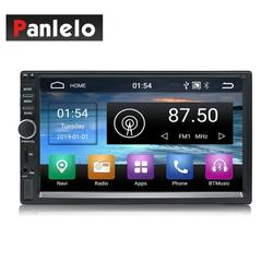 Auto Radio 2 Din Android GPS Navigation Auto Radio Auto Stereo 7 1024*600 Universal Auto-Player Wifi bluetooth USB Audio