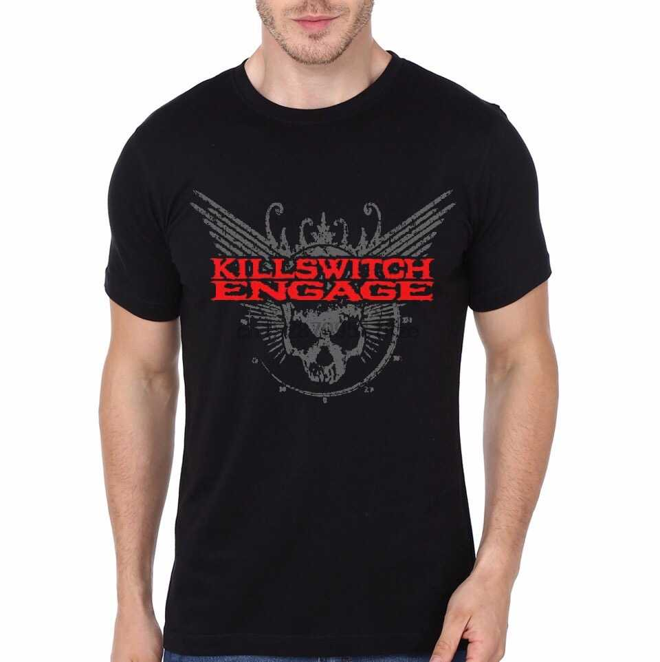 Killswitch Engage Nero T Shirt