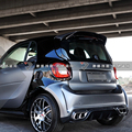 Для Merced-Benz Smart Fortwo Fourfour 453 спойлер 2015-2018 углеродное волокно задний спойлер на крыло  крышу багажник губы крышка багажника автомобиля Стайлинг