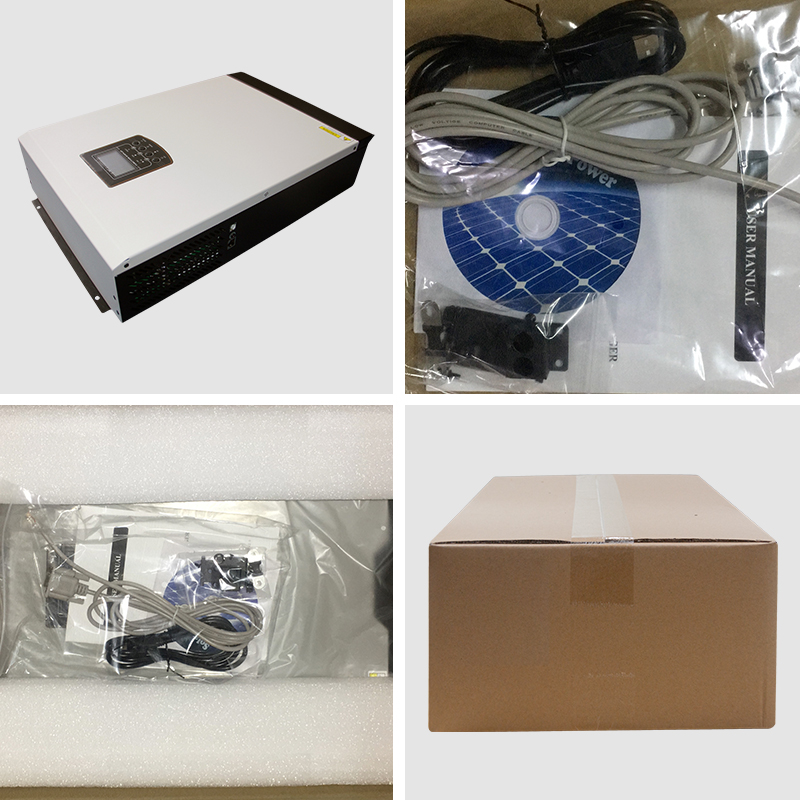 WIFI/GPRS Monitoring Pure Sine Wave Solar Inverter with Wide PV Input Range 5