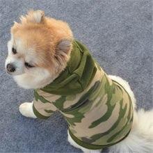 Um afashion roupas para cães de estimação outono casaco para cães pequenos chihuahua roupas sólido hoodies filhote de cachorro roupas de inverno roupas para cães