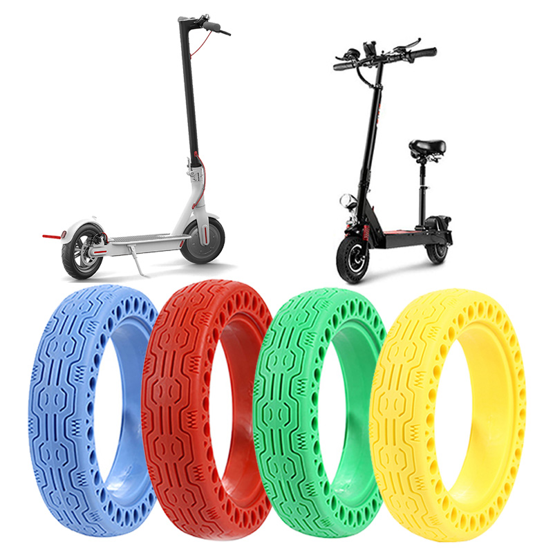 for Xiaomi M365 Electric Scooter Tires Shock Absorber Hollow Solid Tyre Non-Pneumatic Tire Wheel Tire for Xiaomi Mijia M365 Pro