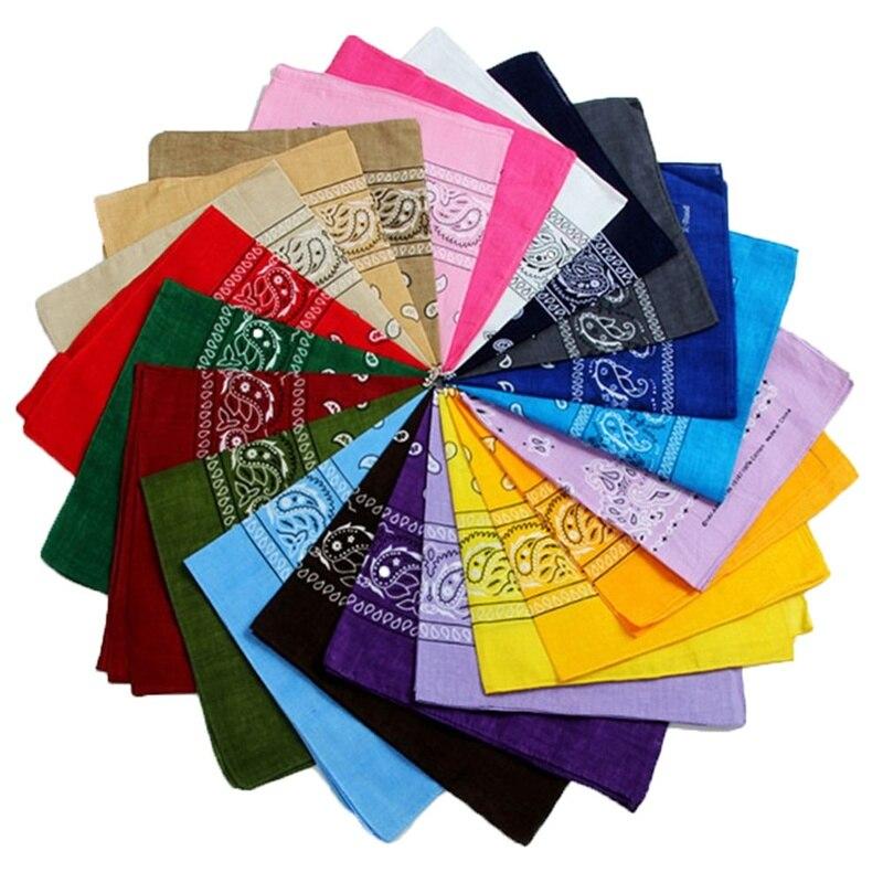 Smooth Silk Pockets Square Handkerchiefs DIY Cloth Face Mask Handmade Towel Hanky Print Towels Multi-function Hankies Fabric