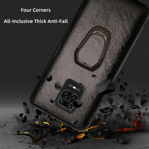 Image 5 - Leather Phone Case For Xiaomi Redmi Note 9s 8 7 K30 Mi 9 se 9T 10 Lite A3 Mix 2S Max 3 Poco X2 X3 F1 F2 Pro Oil Wax Skin Cover