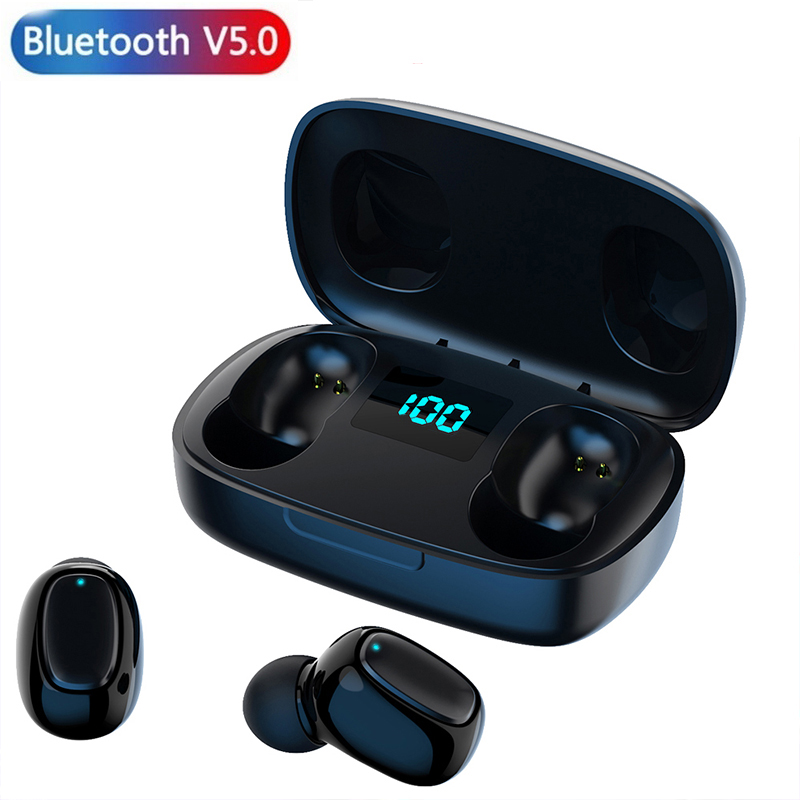 T10s Bluetooth Headset Power Display High Definition Stereo Touch Charging Bin Wireless Earbud Mini Game Work Music Headset Pro Bluetooth Earphones Headphones Aliexpress