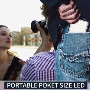 Image 5 - Manbily MFL 06 led luz de vídeo recarregável 4500mah pode ser escurecido 3000k 6500k luz de preenchimento para câmera slr fotografia smartphone iphone