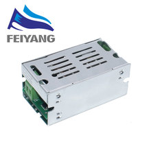 10 個 200 ワットDC DC昇圧コンバータ 6 35 に 6 55v 10Aステップアップ電圧充電器の電源シェル