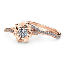 New Lady Ring Copper Zircon Zircon Couple Ring Rings for Women Jewelry Wedding Rings Anniversary resin rings dried flower transparent women handmade ring charm men vintage wedding ring party jewelry romantic couple ring