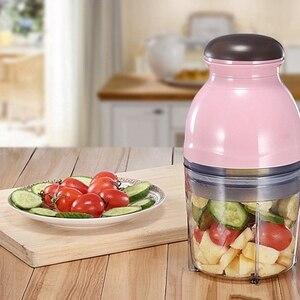 Image 1 - Blender Mini Electric Meat Grinder Food Processor Vegetable Fruit Blender Chopper 500Ml Kitchen Appliances Food Processor Mixer