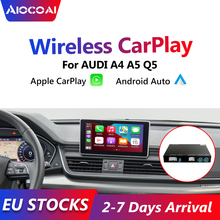 Inalámbrico Apple Carplay Android interfaz para coche decodificador para AUDI A4 A5 Q5 S5 Original de la pantalla de actualización