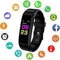 Новые женские спортивные водонепроницаемые часы с монитором кровяного давления  пульсометром  Смарт-часы для мужчин и женщин  фитнес-треке...