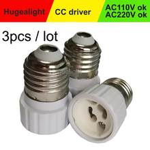 3pcs/lot Light Bulb Adapter Converter LED E27 To GU10 Socket Material lamp Holder Converters Socket Adapter light Bulb Base Type