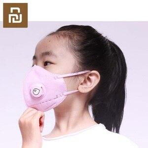 Image 2 - Youpin Kid PM2.5 Dust Mask Childrens Breathing Valve Anti fog Breathable Anti Fog Mask PM2.5 Dust Mask