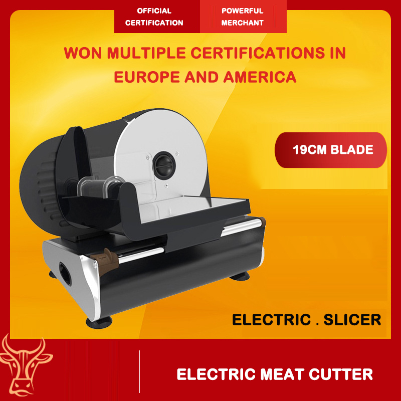 Meat Multi-function Slicer Electrical Appliances Household And Commercial Electric Vegetable Cutting Fruits And  Manual Slicer