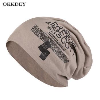 OKKDEY Hats for Women Skullcap Men Beanie Hat  Unisex Warm Ladies Autumn Winter Caps Outdoor Fashion Hip-hop Beanie Cap For Men