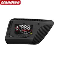 Liandlee For Honda Fit/City 2014 2020 Auto Safe electronics Full Function Car HUD Head Up Display on the windshield projector