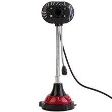 USB 2,0 10,0 мегапикселей веб-камера HD веб-камера с микрофоном микрофон для ПК ноутбука Бесплатный драйвер с функцией смарт-слежения за лицом