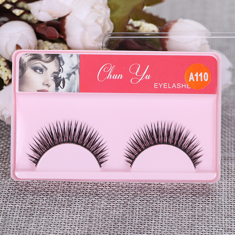 1 Pairs 3D Faux Mink Hair False Eyelashes Handmade Crisscross False Eyelashes Natural Lashes Extension Beauty Makeup Tool TSLM1