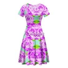 Wholesale Lots Bulk Clothes Purple Dress For Women Summer Sh